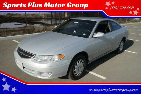 2001 Toyota Camry Solara for sale at Sports Plus Motor Group LLC in Sunnyvale CA