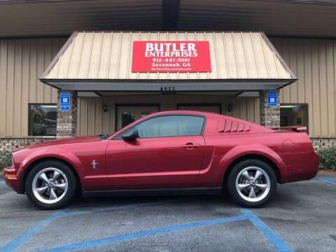 2006 Ford Mustang for sale at Butler Enterprises in Savannah GA