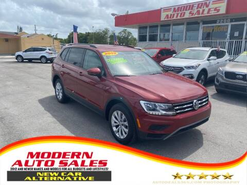 2019 Volkswagen Tiguan for sale at Modern Auto Sales in Hollywood FL