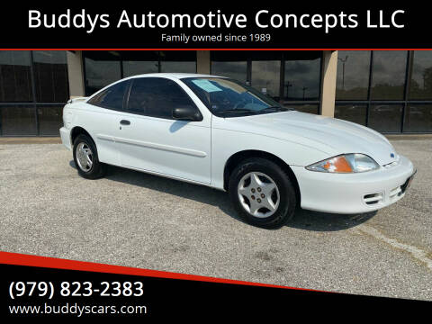 2002 Chevrolet Cavalier for sale at Buddys Automotive Concepts LLC in Bryan TX