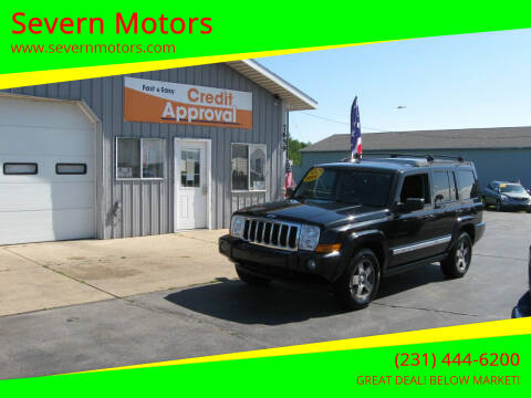 2010 Jeep Commander for sale at Severn Motors in Cadillac MI