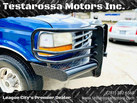 1996 Ford F-350 for sale at Testarossa Motors Inc. in League City TX