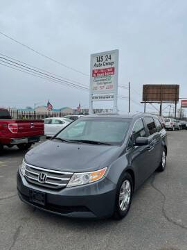 2012 Honda Odyssey for sale at US 24 Auto Group in Redford MI