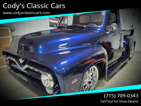 1955 Ford F-100 for sale at Cody's Classic Cars in Stanley WI