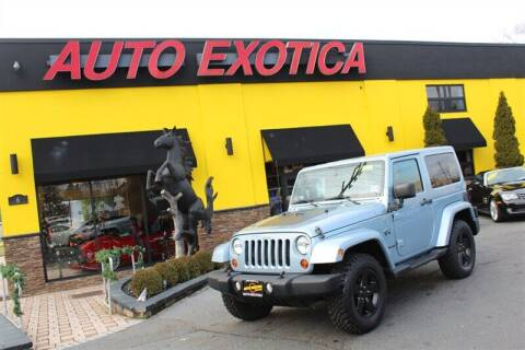 2012 Jeep Wrangler for sale at Auto Exotica in Red Bank NJ