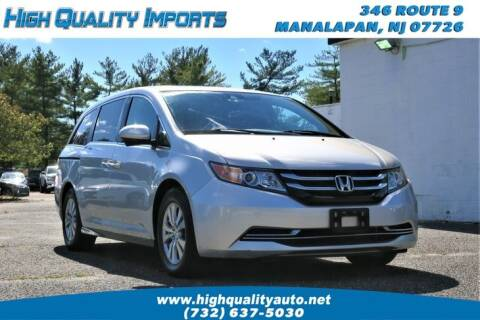 2014 Honda Odyssey for sale at High Quality Imports in Manalapan NJ