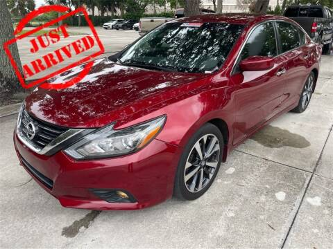 2017 Nissan Altima for sale at Florida Fine Cars - West Palm Beach in West Palm Beach FL