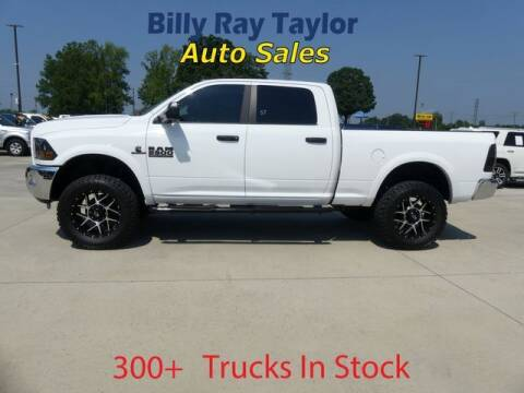 2016 RAM Ram Pickup 2500 for sale at Billy Ray Taylor Auto Sales in Cullman AL