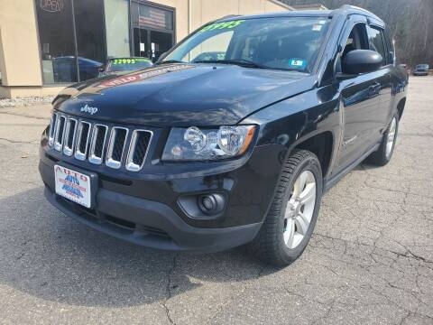 2016 Jeep Compass for sale at Auto Wholesalers Of Hooksett in Hooksett NH