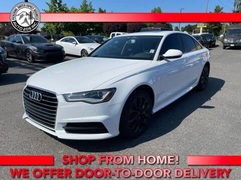 2018 Audi A6 for sale at Auto 206, Inc. in Kent WA
