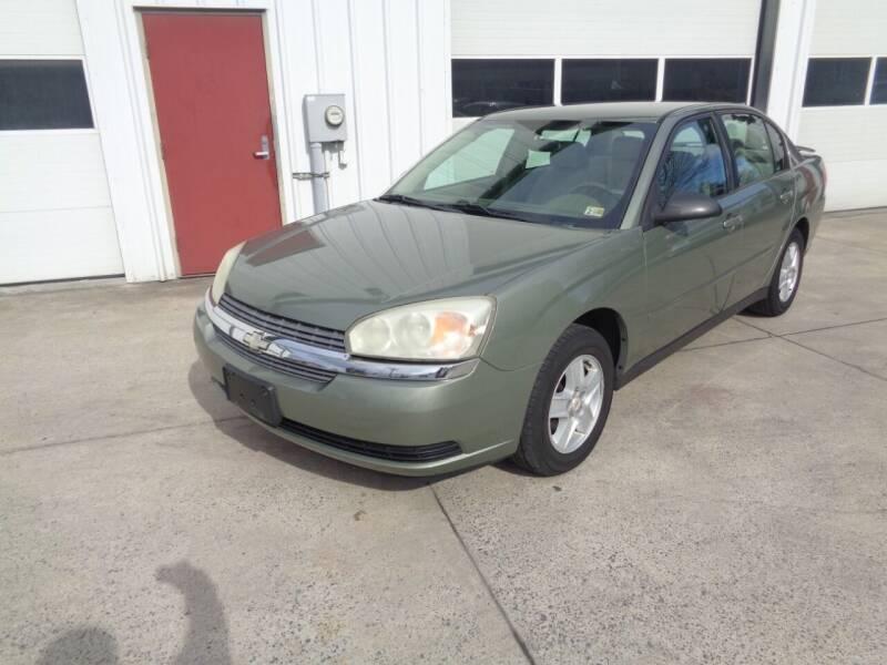2005 Chevrolet Malibu for sale at Lewin Yount Auto Sales in Winchester VA