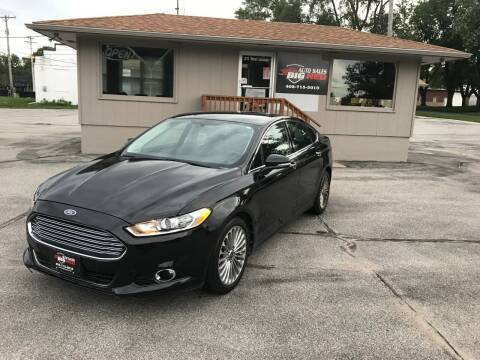 2013 Ford Fusion for sale at Big Red Auto Sales in Papillion NE