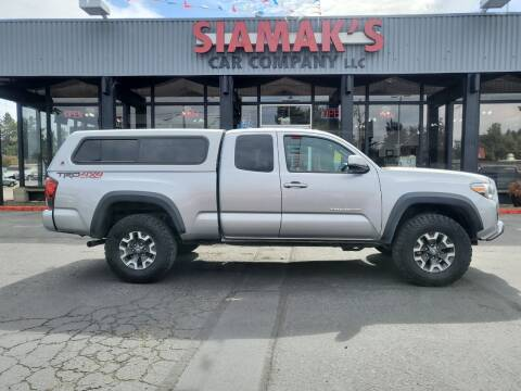 2018 Toyota Tacoma for sale at Siamak's Car Company llc in Salem OR
