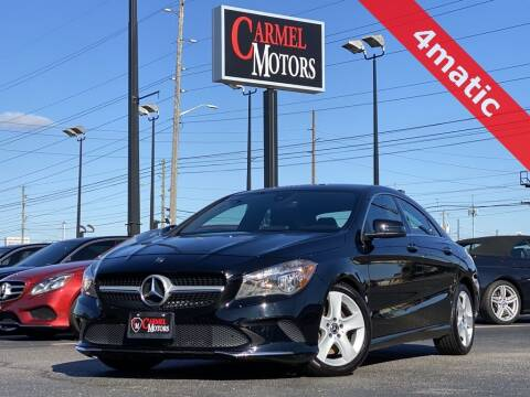 2018 Mercedes-Benz CLA for sale at Carmel Motors in Indianapolis IN