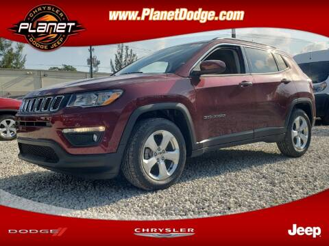 2020 Jeep Compass for sale at PLANET DODGE CHRYSLER JEEP in Miami FL