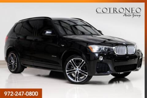 2017 BMW X3 for sale at COTRONEO AUTO GROUP in Addison TX