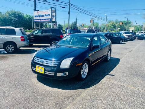 2009 Ford Fusion for sale at New Wave Auto of Vineland in Vineland NJ
