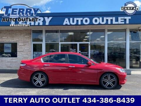 2016 Honda Accord for sale at Terry Auto Outlet in Lynchburg VA