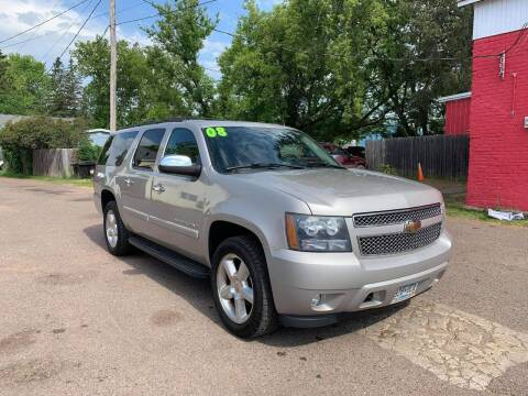 2008 Chevrolet Suburban for sale at WB Auto Sales LLC in Barnum MN