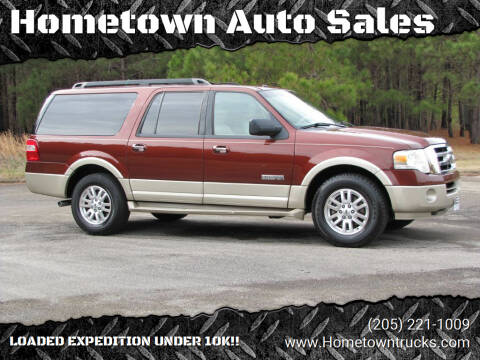 2008 Ford Expedition EL for sale at Hometown Auto Sales - SUVS in Jasper AL