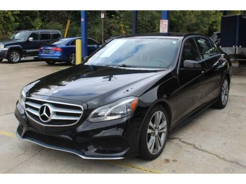 2015 Mercedes-Benz E-Class for sale at Inline Auto Sales in Fuquay Varina NC