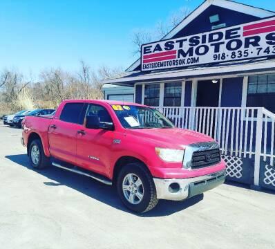 2007 Toyota Tundra for sale at EASTSIDE MOTORS in Tulsa OK