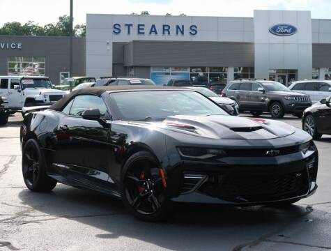 2017 Chevrolet Camaro for sale at Stearns Ford in Burlington NC