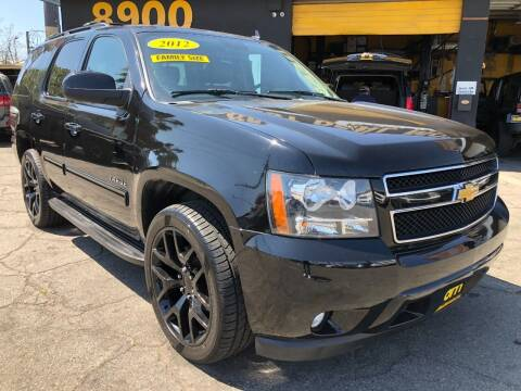 2012 Chevrolet Tahoe for sale at BEST DEAL MOTORS  INC. CARS AND TRUCKS FOR SALE in Sun Valley CA