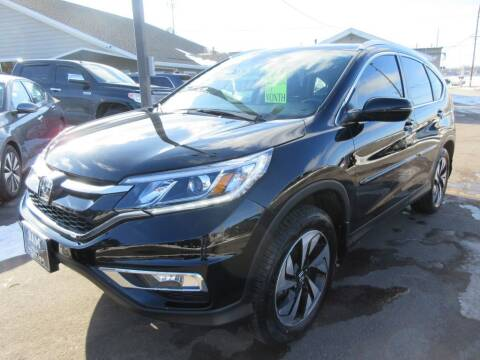 2015 Honda CR-V for sale at Dam Auto Sales in Sioux City IA