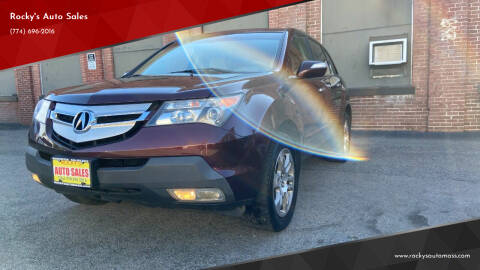 2007 Acura MDX for sale at Rocky's Auto Sales in Worcester MA