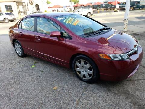 2007 Honda Civic for sale at Devaney Auto Sales & Service in East Providence RI