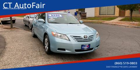 2009 Toyota Camry for sale at CT AutoFair in West Hartford CT