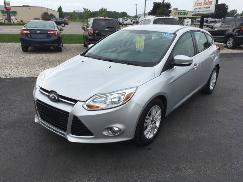 2012 Ford Focus for sale at JACK'S AUTO SALES in Traverse City MI