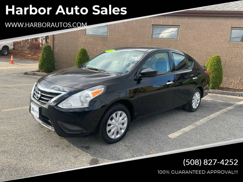 2019 Nissan Versa for sale at Harbor Auto Sales in Hyannis MA