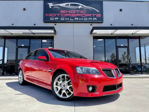 2009 Pontiac G8 for sale at Exotic Motorsports of Oklahoma in Edmond OK