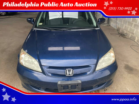 2005 Honda Civic for sale at Philadelphia Public Auto Auction in Philadelphia PA