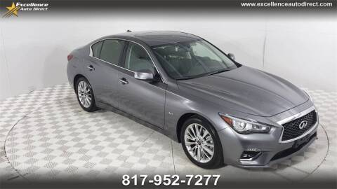 2020 Infiniti Q50 for sale at Excellence Auto Direct in Euless TX