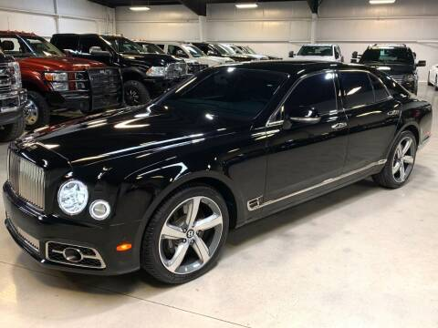 2017 Bentley Mulsanne for sale at Diesel Of Houston in Houston TX