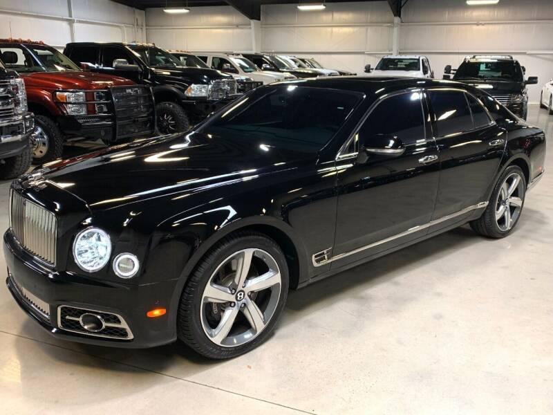 2017 Bentley Mulsanne for sale at Diesel Of Houston in Houston TX