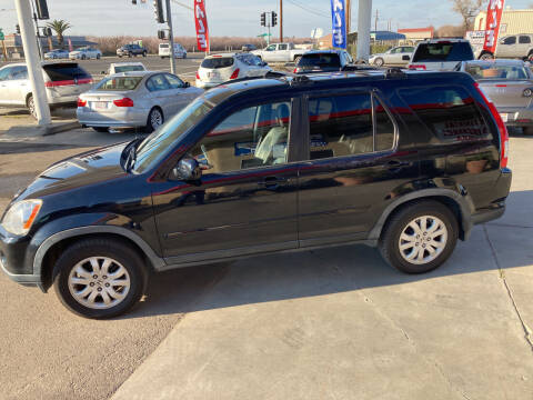 2005 Honda CR-V for sale at CONTINENTAL AUTO EXCHANGE in Lemoore CA