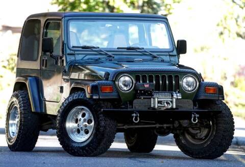 1998 Jeep Wrangler for sale at MS Motors in Portland OR