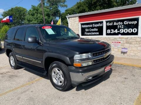 2005 Chevrolet Tahoe for sale at GOL Auto Group in Austin TX