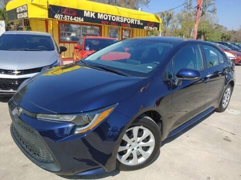 2021 Toyota Corolla for sale at MK Motorsports LLC. in Orlando FL