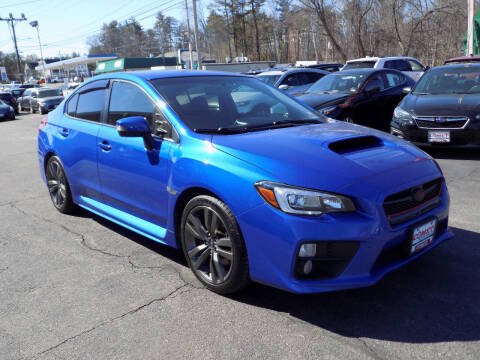 2017 Subaru WRX for sale at Comet Auto Sales in Manchester NH