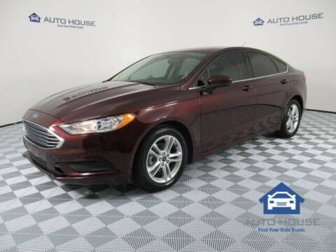 2018 Ford Fusion for sale at Autos by Jeff Tempe in Tempe AZ