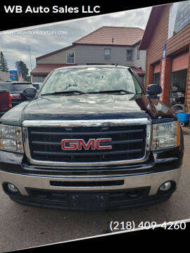 2011 GMC Sierra 1500 for sale at WB Auto Sales LLC in Barnum MN