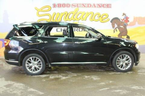 2014 Dodge Durango for sale at Sundance Chevrolet in Grand Ledge MI