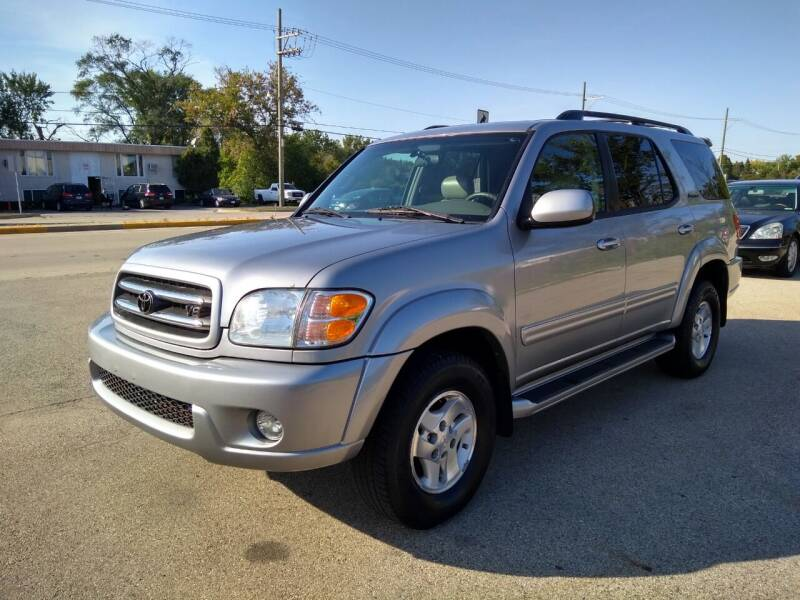 2002 Toyota Sequoia for sale at GLOBAL AUTOMOTIVE in Grayslake IL