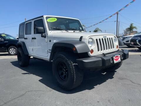 2010 Jeep Wrangler Unlimited for sale at Esquivel Auto Depot in Rialto CA