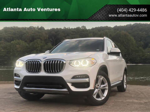 2020 BMW X3 for sale at Atlanta Auto Ventures in Roswell GA